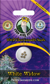 White Widow Autoflower Marijuana Seeds 162x274