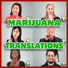 Marijuana Translations
