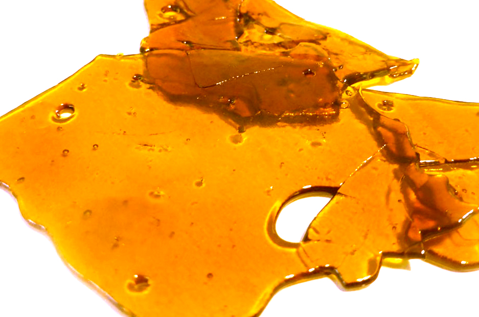 how to smoke shatter without a rig