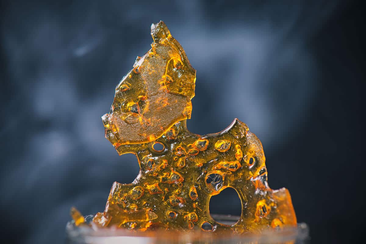 How to Smoke Shatter Without a Rig?
